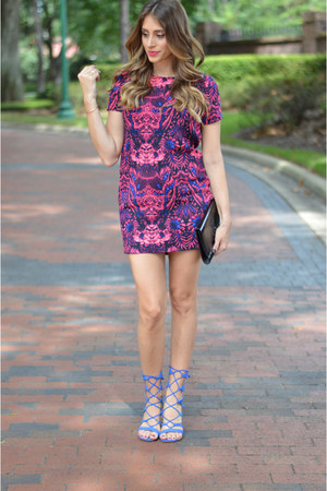 Schutz heels - AX Paris dress - YSL purse - Henri Bendel ring