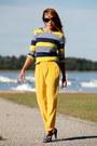 Yellow-thakoon-for-target-shirt-yellow-bb-dakota-pants