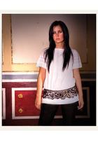 SU-SHIcom blouse - SU-SHIcom belt - American Apparel
