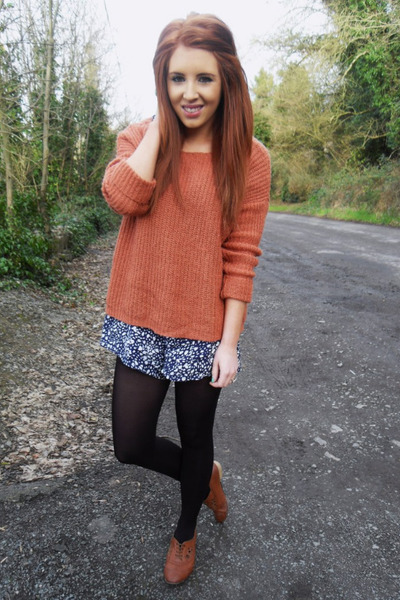 Newlook jumper - Primark shoes - Primark romper
