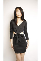 Black-swaychiccom-dress