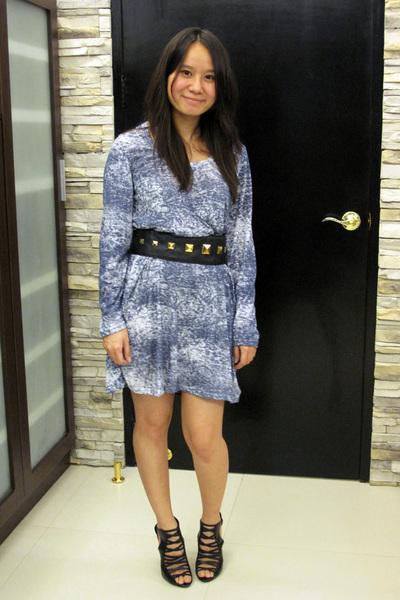 dress - H&M belt - shoes