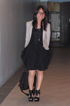Giordano Concepts blazer - dress - H&M shoes - purse - necklace