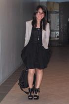 Giordano Concepts blazer - dress - H&M shoes - purse - necklace