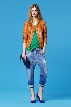 Zara jeans - Zara jacket - Zara shirt - Zara purse - Zara heels