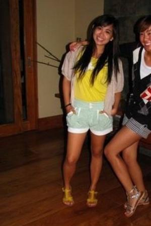 landmark shirt - shorts - SM shoes - Topshop necklace