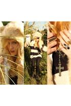 SpiritHood hat - LF stores sweater - American Apparel leggings - mui mui boots -