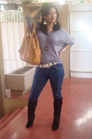 Aldo purse - Forever 21 accessories - cotton Guess blouse