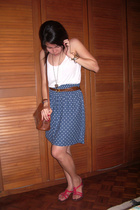 H&M top - H&M accessories - Topshop shoes