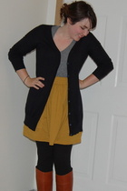 Gap sweater - American Apparel skirt - vintage via Ebay shoes - American Apparel