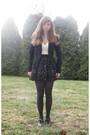 Black-iz-byer-california-blazer-black-forever-21-skirt-white-iz-byer-califor