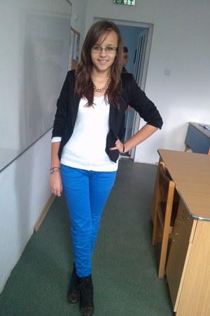 blue H&M Trend shoes