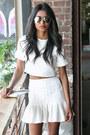 White-clutch-nina-brazia-bag-white-mirrored-asos-sunglasses