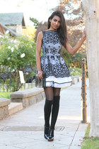 black lace Jones dress
