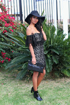 black lace Stone Cold Fox dress