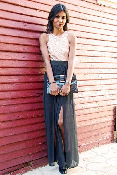 camel gold maxi dress Love dress - black patent Marc Jacobs heels