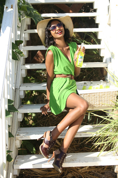 green green Nordstrom dress