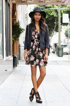 black floral Sway Chic dress