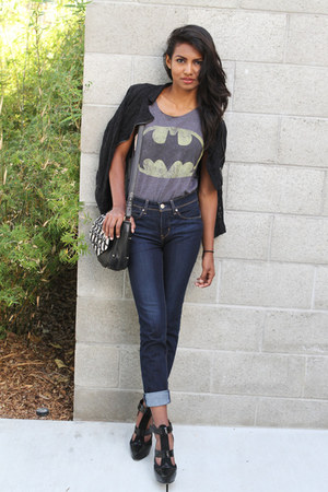 charcoal gray batman BATMAN SHIRT shirt