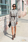Beige-embellished-tfnc-dress