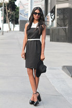 color block Black Swan dress