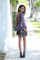 navy fringe Gypsy Junkies dress