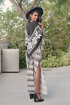 black tribal Urban Outfitters dress