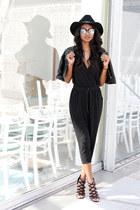 black black a la femme shop jumper - black black Caged Heels heels