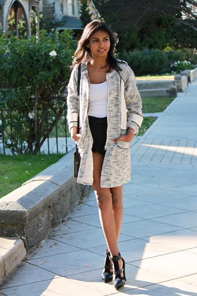 off white coat H&M coat
