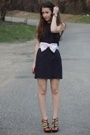 vintage dress - Erin Fetherston for Target belt - gojanecom shoes