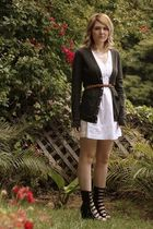 black Jeffery Campbell shoes - white Pins & Needles dress - gray my boyfriends A