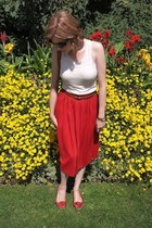 Urban Outfitters skirt - vintage from Ebay bag - Kate Kanzier pumps