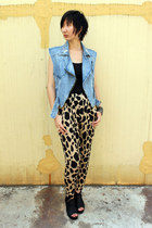 from hong kong pants - cotton on top - Millies wedges