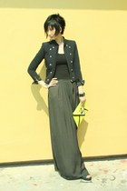 from Korea jacket - Zara pants - cotton on top
