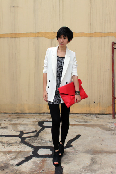 from Korea bag - Millies wedges