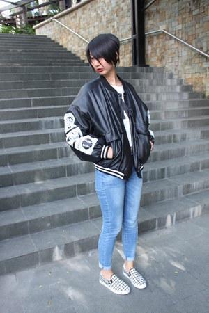 Payless shoes - Mango jeans - from hong kong jacket - from hong kong top