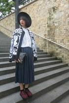 random from Hong Kong shoes - H&M hat - Zara shirt - 33 Field Trip skirt
