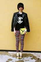 Joy & Peace shoes - Zara jacket - H&M pants