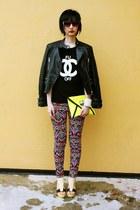 Joy & Peace shoes - Zara jacket - H&M pants