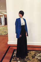 from hong kong top - from hong kong blazer - Frankie de Leon skirt