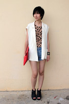 from Seoul bag - Millies wedges - from Seoul vest