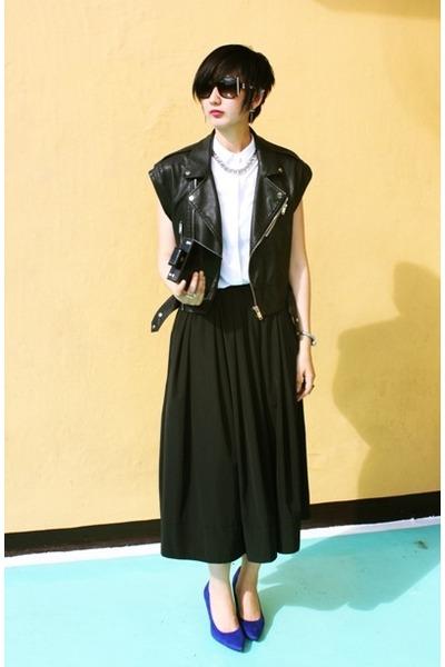 Payless shoes - from hong kong bag - from hong kong skirt - Bershka vest