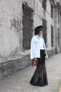 Zara-jacket-sportsgirl-shirt-katie-judith-bag-nine-west-heels-h-m-skirt