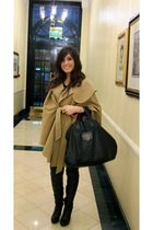Isabella Oliver coat - Topshop boots - Givenchy purse
