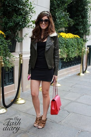 Alexander Wang shoes - asos jacket - Chanel bag