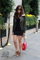 Alexander Wang shoes - asos jacket - Chanel bag