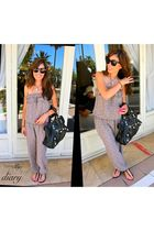 South of France jumper - Florence shoes - balenciaga bag - Raybans sunglasses