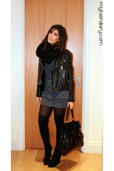 YSL Muse Two Purses, Acne Jackets | \u0026quot;Snoods!\u0026quot; by talaelle | Chictopia