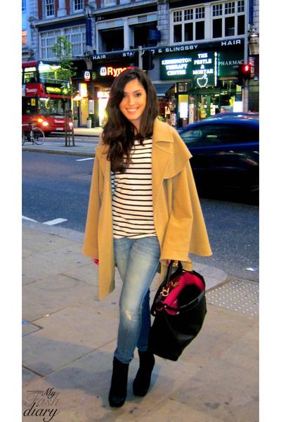Isabella Oliver jacket - Siwy jeans - Office shoes - Fendi purse
