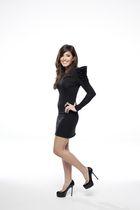 HANNAH MARSHALL dress - YSL tribute two shoes